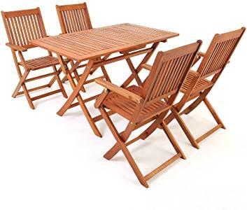 muebles madera terraza