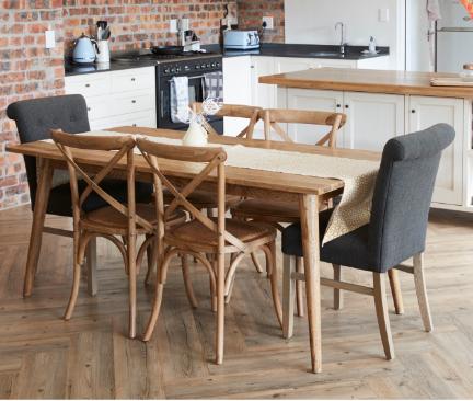 Mesa De Cocina Con Sillas: Ideas para instalar tus sillas ...