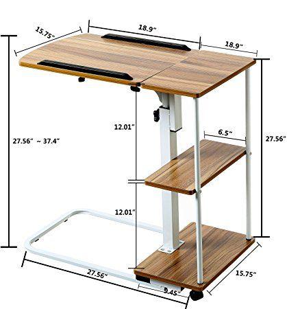 mesa-auxiliar-con-ruedas-para-cama-ideas-para-montar-la-mesa