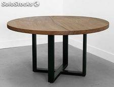 mesas-redondas-de-madera-para-comedor-opiniones-para-instalar-la-mesa-online